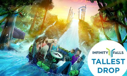 SeaWorld Orlando's new Infinity Falls soon to open